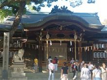 石切神社なう。