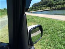 近くの川に子供と行ってきました。