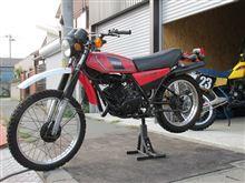 バイク屋が、ガレージにやって来た。 しかも、マイスター ?