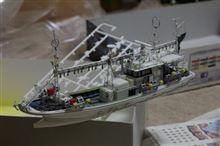 イカ釣り漁船やや難航