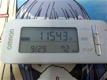 測定(2014/9/29) 月曜日