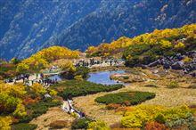 アルプスの紅葉って素晴らしいね!中央アルプス木曽駒ヶ岳