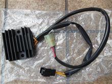 RG125Γ 電気系チェックとレギュレートレクチファイヤー&バッテリー交換