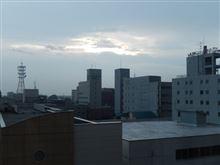 今朝の帯広は雨上がりな感じ?