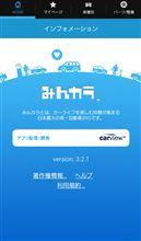 みんカラアプリ 3.2.1 バージョンアップのお知らせ(Android版)