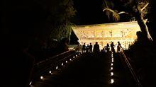 塩竈神社 月灯り