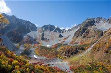 紅葉の涸沢テント泊・北穂高岳登山