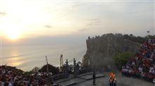 バリ島にてウルワツ寺院とケチャダンスを鑑賞(備忘録)