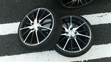 タイヤ交換の巻