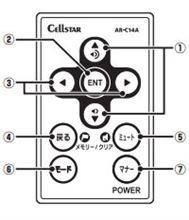 セルスター/CELLSTAR レーダー探知機 AR-131RM リモコン購入