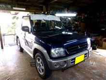パジェロミニDOHC20ターボのカーオーディオ取り付け/ドアデッドニング篇 CS.ARROWS