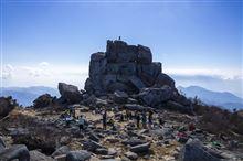 今季3度目の日本百名山ダブルヘッダー、瑞牆山・金峰山