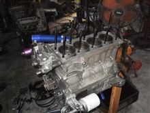 SLのエンジン分解中~