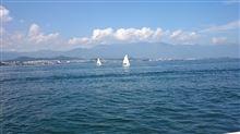 琵琶湖に行ってきました、、、