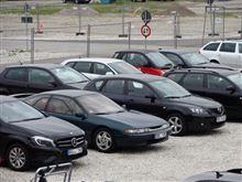 ミュンヘンの駐車場にて・・