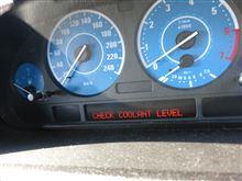 BMW(X5)の定番故障の冷却水漏れ