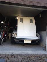 水洗い洗車と乾燥と