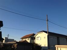 風が冷たい(>_<)〜おはです!