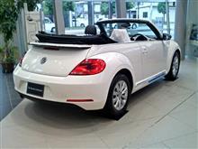 〈展示車〉VW The・Beetle・cabriolet