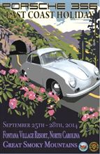 Porsche 356 East Coast Holiday 2014