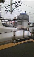★岡山に向かう新幹線車中
