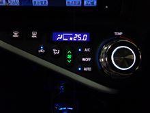 トヨタAQUA イカリング・LED打ち替え 千葉県よりご来店
