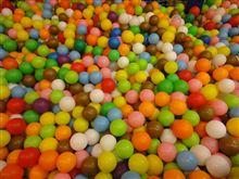 カラーボールのプールw