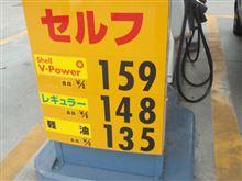 ガソリン価格...