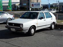 メンテナンスは大事....VW GOLFⅡ スナッポン ドクターカーボン