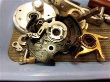 カルカッタシリーズ、ドライブギア軸ブッシュのボールベアリング化