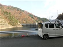 兵庫LA-41 長谷ダム 兵庫県神崎郡神河町移動