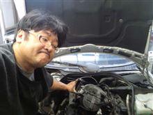 昨日はエンジン爆発したベンツを修理するために…今度は12月20日にカービートの勉強会