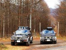 テラノ2台、北軽井沢へ晩秋キャンプに行く (簡易版)