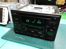 RM-W18SAS。日産純正、CDカセットレシーバー。