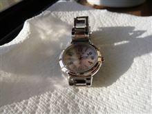 燃費報告(DIO110)と腕時計