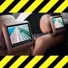 今だけ【ワイヤレスヘッドホン】プレゼント。後ろの席でTVを観させたい方へ緊急案内!取付け3分の高級車風リアエンターテイメントシステム