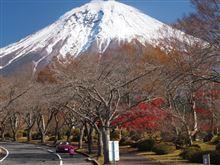 ロードスターで行く晩秋の伊豆旅行 Part1 富士桜自然墓地公園