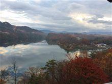 恵那峡に来てます。