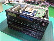 CQ-LS6650AA、55403。トヨタ純正、カセットレシーバー。