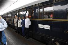 Venice Simplon-Orient-Express出発前・・・・