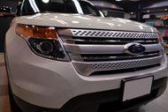 アメリカンSUV フォード・エクスプローラーのガラスコーティング【リボルト東京WEST】