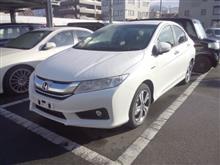 〈展示車〉HONDA GRECE HYBRID EX