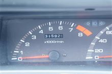 オイル交換、トリップメーター注油、下回り洗車、ABS疼く。