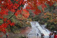 房総 養老渓谷の紅葉 <弘文洞跡、粟又の滝>