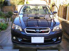 2014.12.2.タイヤ交換後の洗車。
