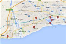 富士工場地帯撮影マップも作ってみた♪