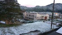 ギョエ~! 初雪~ (゚д゚)!