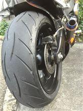 タイヤ交換  METZELER SPOLTEC M5