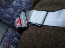 バスのシートベルト