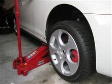 タイヤ交換3台+タイヤホイール洗い20本